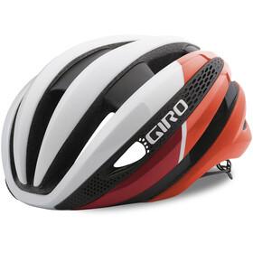 Giro Synthe Pyöräilykypärä , punainen/valkoinen